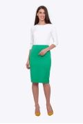 Зеленая юбка-карандаш Emka 663/sabina