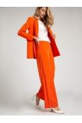 Оранжевые брюки-палаццо Emka D167/aperol