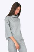 Женская блузка с воротником-хомут Emka B2268/debra