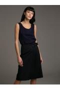 Женская юбка с плиссировкой Emka S875/barselona