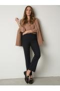 Классические брюки прямого кроя Emka D001/lorita