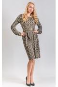 Платье из трикотажа TopDesin B8 070