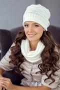 Белая шапка Landre Катерина