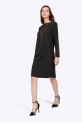 Классическое маленькое чёрное платье Emka PL865/premiera