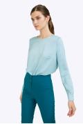Голубая блузка Emka B2324/zaki