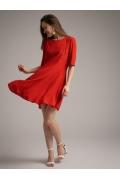 Короткое платье-полусолнце Emka PL1023/sydney