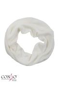 Белый шарф-снуд Conso Wear SN1608001