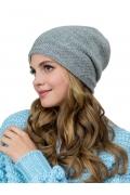 Женская двойная шапка из шерсти альпаки Landre Лоретта