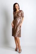 Платье из тонкого трикотажа TopDesign Premium PA4 48