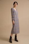 Платье в клетку прямого кроя Emka PL968/sveran