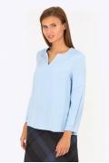 Голубая блуза Emka Fashion b 2175/djilian