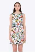 Платье прямого силуэта без рукавов Emka PL-684/beverly