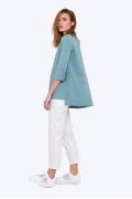 Свободная блузка с асимметрич- ным низом Emka b 2210/esmira