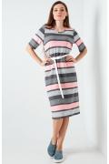 Летнее платье в полоску TopDesign A20 064