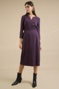 Приталенное платье-миди с рукавами 3/4 Emka PL825/vruk
