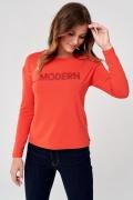 Красная трикотажная блуза Sunwear C30-5-22