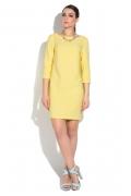 Жёлтое летнее платье Donna Saggia DSP-269-47