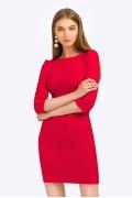 Красное платье-футляр Emka PL443/rostislava