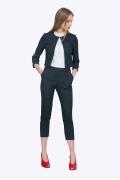Женские укороченные брюки на поясе Emka D-011/karina
