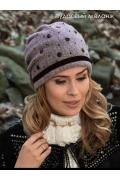 Женская объемная шапка-бандана Willi Siljana