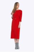 Красное платье Emka PL698/yasmina