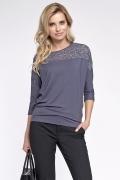 Блузка с кружевной вставкой Sunwear O50-4-84