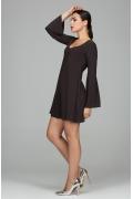 Мини-платье расклешенное от груди Donna Saggia DSP-202-78t