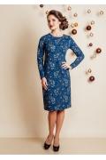 Классическое платье TopDesign Festive NB6 05