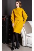 Жёлтый джемпер Flaibach 089W7