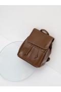 Коричневый рюкзак из экокожи Emka C050/kalevi