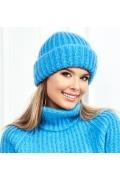 Голубая женская шапочка Landre Адель