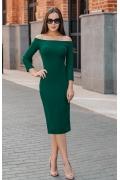 Платье-футляр из плотного трикотажа Donna Saggia DSP-356-44t