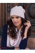 Тёплая мягкая шапка розового цвета Kamea Suelo