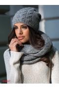 Тёмно-серая женская шапка Kamea Violeta