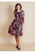 Трикотажное платье TopDesign B6 003