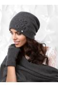 Графитовая женская шапка Kamea Nicea