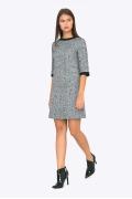 Стильное молодёжное шерстяное платье Emka PL415/alta