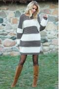 Шерстяное платье Fobya F575