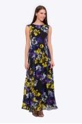 Длинное летнее платье Emka Fashion PL-425/kanti