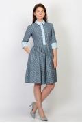 Платье рубашечного кроя Emka Fashion PL-447/konstancia