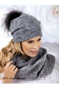 Женская шапка с помпоном Landre Irina