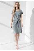 Летнее платье с поясом Sunwear IS210-2