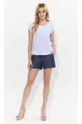 Лёгкая летняя хлопковая блузка для женщин Zaps Verna