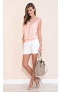 Блузка летняя персикового цвета Zaps Janay