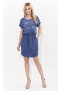 Короткое летнее платье на кулиске Zaps Esser
