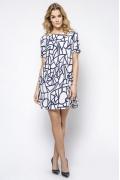 Летнее женское платье А-силуэта Enny 230200