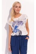 Блузка с коротким рукавом Zaps Nina