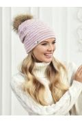 Розовая шапка Landre Грация