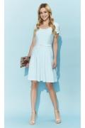 Стильное летнее платье с поясом Zaps Nikanda