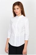 Белая офисная рубашка Emka Fashion b 2169/vonda